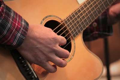 Gitarrenmusiker